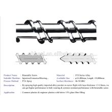 bimetallic injection machine screw barrel