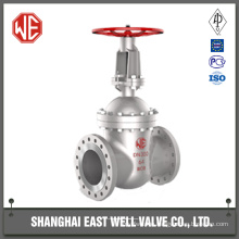 Sluice gate valve for water