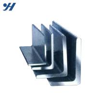 Barre d'angle en forme de L laminée à chaud en acier doux pour usage durable