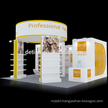 Detian Offer 20x20ft portable trade show booth design exhibition stands