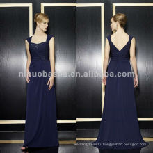 NY-1959 Stretch satin a-line with soft sweetheart and v-backa mother dress