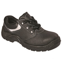 Ufa016 Ce Steel Toe High Quality Black Ce Safety Shoes for Construction Workers