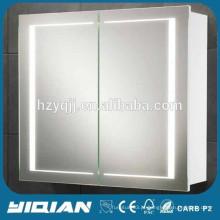 MDF Led Mirror Cabinet, Design Moderno Vanité de banheiro de PVC
