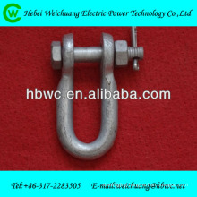 clevis for cable fitting accessories/transmission line fitting /pole line hardware