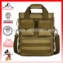 Tactical Military Laptop Maletín Maletín Messenger Bag Saddlebag, bolsas de oficina HCT0015