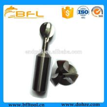 BFL-CNC-Schaftfräser Hartmetallanfertigungen für sphärische Schaftfräser