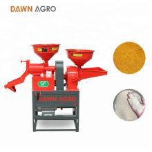 DAWN AGRO Precio de maquinaria de molienda de mini molino harinero de arroz en Nigeria