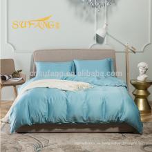 Juego de cama de bambú / Low MOQ tela de buena calidad Juego de cama de algodón 100% de bambú