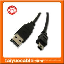 Стандарт USB 2.0 AM для кабеля с мини-разъемом 5