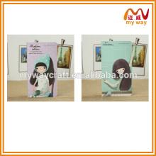 Meilleur bloc-notes spécialement conçu pour les filles, papier cartonné coloré