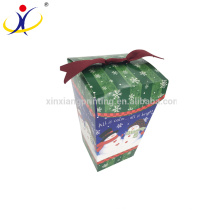 Customized colors!Merry Christmas Gift Box Packaging Paper Boxes
