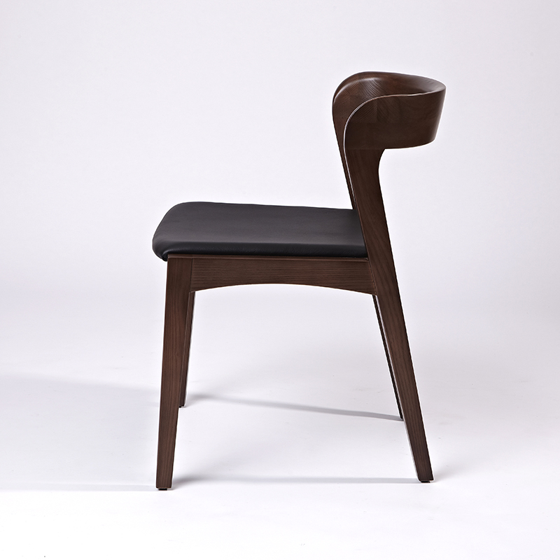 nordic wooden dining chair
