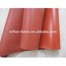 China caucho de silicona recubierto de fibra de vidrio tejida, hoja de silicona resistente al calor, proveedor de China