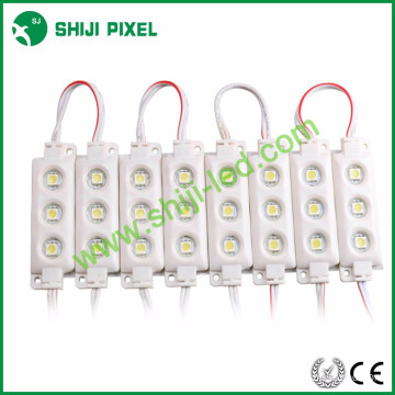 Factory Wholesale outdoor IP66 waterproof single color DC12V 0.72W Epistar 5050 injection led module