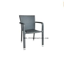 Meubles en rotin synthétique, chaise de Patio (8014)