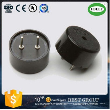 Hot Sale Through Hole Piezo Buzzer (pin type) Factory 13mm