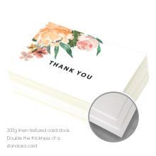 Cartes de pliage de papier bon marché en gros conçoit des cartes-cadeaux faites main d'événements de salutation à la main