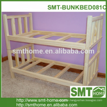 wood bed design bunk bed hot sale in China with cheap price