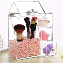 Bouteilles de parfum Vitrines d'affichage acrylique de détail