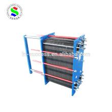 Flüssiger, hocheffizienter, abnehmbarer Plattenwärmetauscher M20M