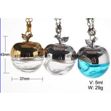 Apple Shape Empty Hanging Car Perfume Bottle Cosmetic Packaging