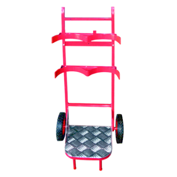 Folding Red Hand Trolley
