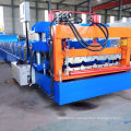 Metal roofing sheet molding glazed tile press machine
