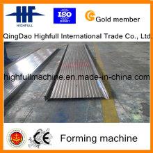 Profissional metal aço anodo placa formando máquina