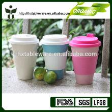 Tasses en bambou de vie écologique pour boire