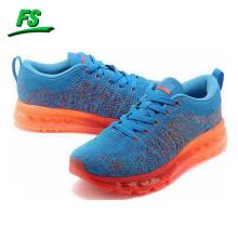 2015 сплетенный верхняя спортивная обувь с воздушной подушкой, подошва