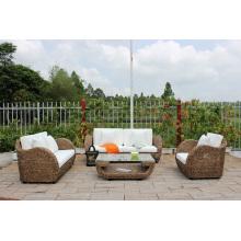 Modelo clásico de jacinto de agua sofá conjunto