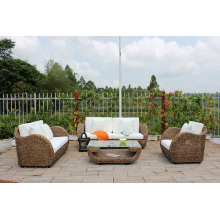 Unique and Exclusive Design Water Hyacinth Sofa Set Indoor Living Set Furniture