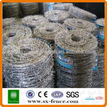 14*14 16*16 1.5-2.7mm electro/hot dipped galvanized double twisted barbed wire price