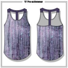 OEM Fabrik Frauen Racerback Fitness Workout Gym Tank Top