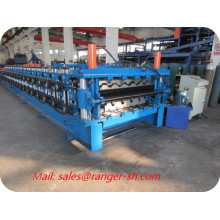 corrugado embutición de azulejo de maquinaria formadora que hace la máquina