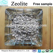 Traitement des eaux usées 1-2MM granulaire à bas prix naturel Zeolite