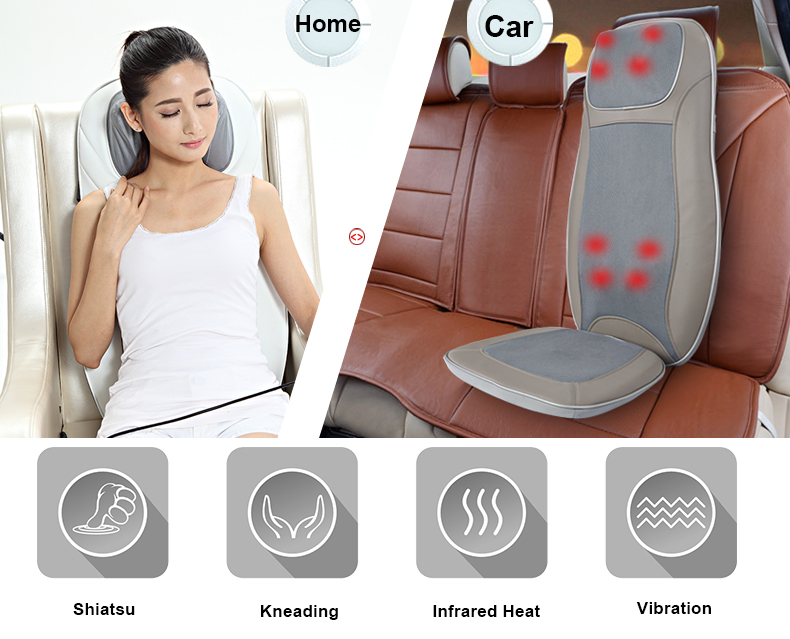 Massage Cushion For Home And Car