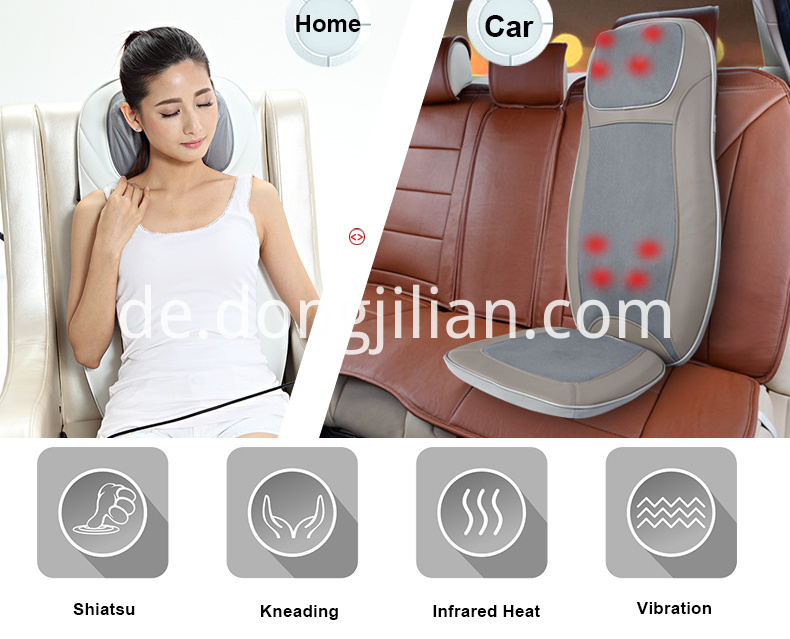 Full-Touch Rolling Massage Cushion