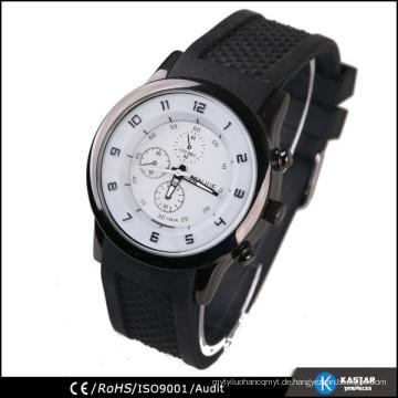 Mens coole Uhren mit Gummiband