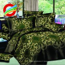 Prix de gros Confortable 4Pcs drap de lit pleine taille 3D imprime 100% polyester literie Se