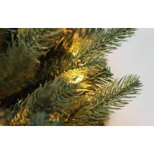 9FT. Blue Noble Spruc Artificial Árvore de Natal com luzes LED (M100.069.01)