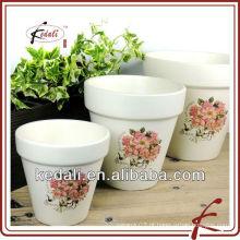 Vaso de cerâmica de decoração