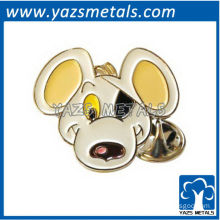 custom high quality Dangermouse face lapel pin