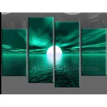 Moderne Leinwand Kunst des Seascape Ölgemäldes (SE-193)
