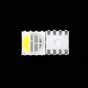 SMD 5050 RGBW LED 4 chips LED RGB Blanco