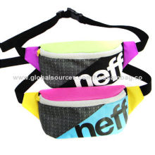 Fashionable Waist Bags, Made of 600D Material, Sized 25 x 5 x 15cmNew