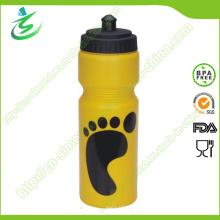 750ml Custom Easy Squeeze Kunststoff Sport Flasche / Wasserflasche