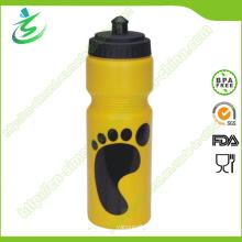 750ml Custom Easy Squeeze Plastic Sports Bottle / Water Bottle