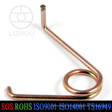 Copper Custom Double Torsion Spring
