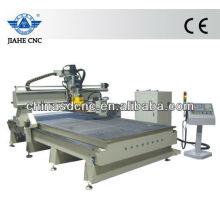 JK-1325 Cambiador de herramientas automático de madera cnc enrutador máquina con 8-16 herramientas